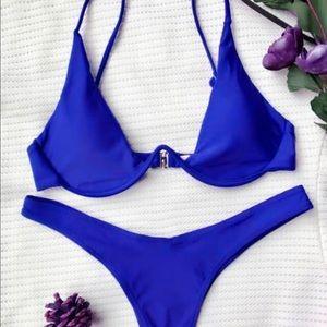 Zaful Plunge Bikini